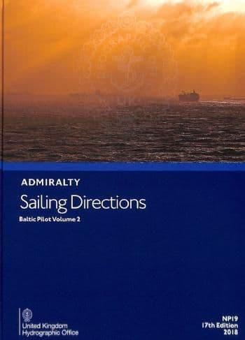 NP19 - Admiralty Sailing Directions: Baltic Pilot Volume 2